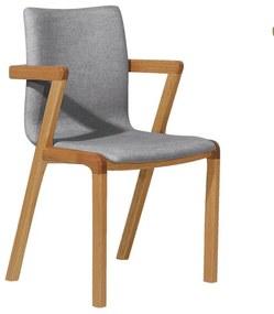 Cadeira Holambra com Braço - Wood Prime OC 27530