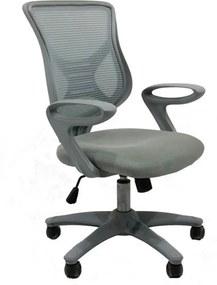 Cadeira de Escritório Bacelar C/ Altura Ajustável Preto TELA MASH