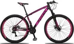 Bicicleta Aro 29 Quadro 19 Alumínio 21v Suspensão Freio Disco Mecânico