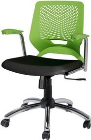Cadeira Mieiro Giratória Verde / Preto