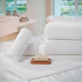 Kit Toalhas para Hotel Teka Madri Branco 4 Peças