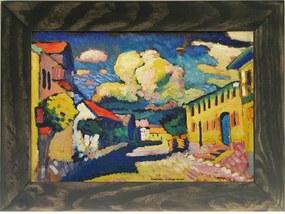 Quadro Decorativo A4 A Village Street - Kandinsky Cosi Dimora