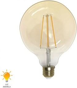 Lâmpada de Filamento E27 LED G125 6W 2200K Bivolt - 31062702 - Germany - Germany