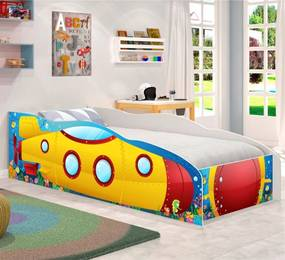 Cama Infantil Kids Speciale Submarino Amarelo CASAH