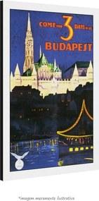 Poster Budapeste (30x45cm, com Painel)