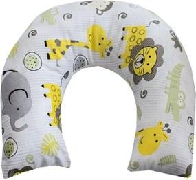 Almofada de Pescoço para Bebê Safari Amarelo
