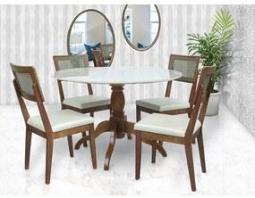 Conjunto de Jantar Sid com Cadeiras Atlanta ATIVA MÓVEIS -