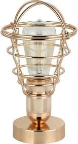 Luminaria de Mesa Lumini cor Dourado 27 cm (ALT) - 44042 Sun House