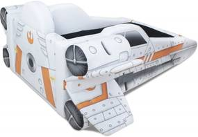 Cama Infantil Nave X - Wing Cama Carro do Brasil Branco