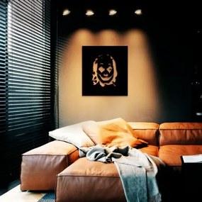 Conjunto Completo P/ Decoração de Sala c/ Abajur de Chão , Trilho Eletrificado e Quadro Vazado em Metal | Look Fall 1