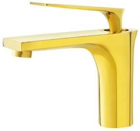 Torneira Monocomando Baixa para Banheiro (Michigan Dourada) - Outlet