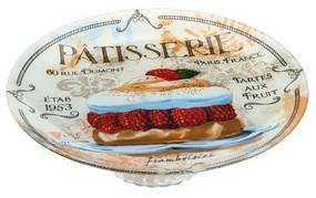 Prato De Servir De Vidro Com Pé Patisserie 30cm 35434 Bon Gourmet