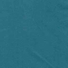 Kit 2 Poltronas Dakota C/ Pés Palito Suede Aveludado Azul Turquesa