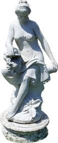 Escultura em Mármore Carrara - Mulher