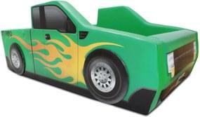Cama Cama Carro Camionete Verde
