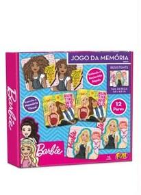 JOGO DA MEMÓRIA BARBIE 24 PÇS