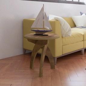 Mesa de Canto 100% Mdf Jade Pinho - Artely