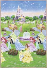 Tapete Recreio Disney Trip Princesas 120X180 Jolitex Verde