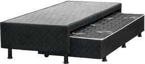 Box C/ Cama Auxiliar Taene Viúva (L: 98cm x A: 42cm x P: 198cm) C/