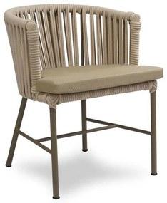 Cadeira Jurerê Área Externa Trama Corda Náutica Estrutura Alumínio Eco Friendly Design Scaburi