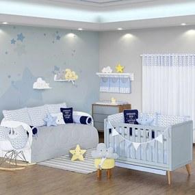 Quarto de Bebê Blue Sky 27 Peças