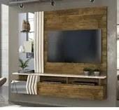 Painel Home Bello Para Tv 55 Polegadas Demolição Off White DJ Móveis