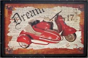 Placa Decorativa Dream Vintage