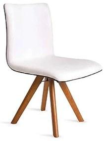Cadeira Giratória Cristal Estofado Anatômico Design Contemporâneo Casa A Móveis