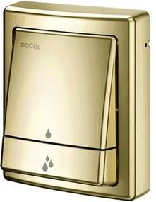 Acabamento para Válvula Descarga Salvagua Square Ouro Polido - 00449543 - Docol - Docol