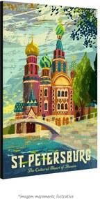 Poster São Petersburgo (30x45cm, com Painel)