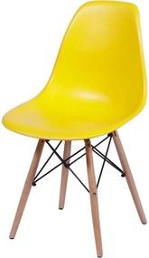 Cadeira Infantil DKR Eames Amarelo OR Design