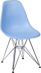 Cadeira Eiffel Eames DSR Azul