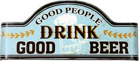 Placa Decorativa Drink Good Beer