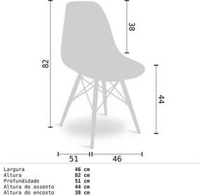 Mesa Escrivaninha Idealle Nicho Multiuso Toys Branco e Cadeira Charles Amarela - Mpozenato