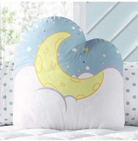 Almofada Infantil Noite de Luar com Estrelinha Grã