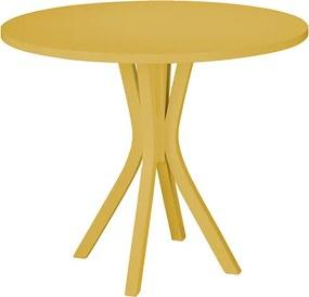 Mesa de Jantar Felice Amarela