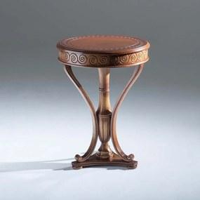 Mesa de Canto Lucca Decorativa Madeira Maciça Design Clássico Avi Móveis