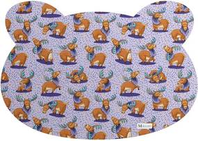 Tapete PET Mdecore Urso Alce Roxo 54x39cm