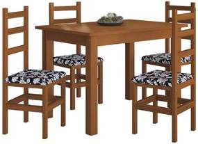 Mesa de Jantar 120 Imbuia - Belini