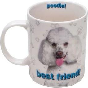 Caneca Porcelana Poodle 330 Ml 26616 Bon Gourmet
