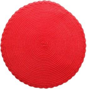 Lugar Americano Plástico Vermelho 38cm 61310 Royal