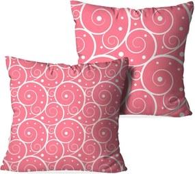 Kit 2 Almofadas Love Decor Decorativas Abstrato Rose Multicolorido