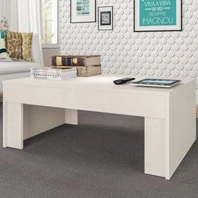 Mesa de Centro Prada Natura Off White - Atualle Móveis