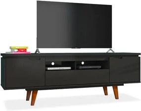 Rack para TV até 40 polegadas, Preto Acetinado, Susy