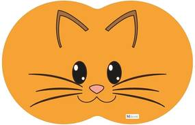 Tapete PET Gato Laranja54x39cm