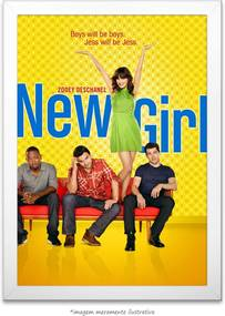 Poster New Girl (40x60cm, com Painel)