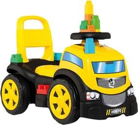 Baby Land Blocks Truck In Ride Menino