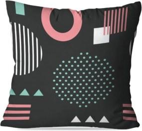 Almofada Love Decor Avulsa Decorativa Geométrico Cinza