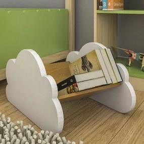 Encosto para Livro Infantil Seta - Branco