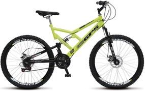 Bicicleta Colli Bikes Aro 26 Freio a Disco Amarelo Neon